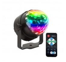 ΦΩΤΙΣΤΙΚΟ EFFE MUSIC 6730 RGB LED ΜΠΑΛΑ
