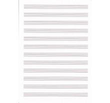 Κόλλα Μουσικής Όρθια 14 Πεντάγραμμα