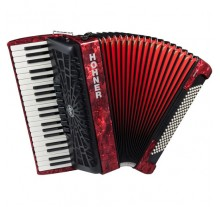 ΑΚΟΡΝΤΕΟΝ HOHNER Bravo 120 RED - BLACK