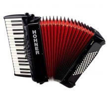 ΑΚΟΡΝΤΕΟΝ HOHNER Bravo72 RED - BLACK