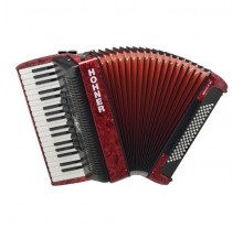 ΑΚΟΡΝΤΕΟΝ HOHNER  Bravo80  RED - BLACK