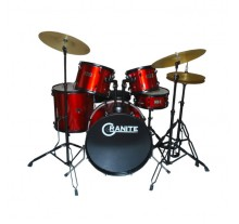 DRUM SET MUSIC STUDIO DRUM 20'' RED