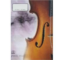 Τετράδιο μουσικής A4, 50/12 PANAS MUSIC
