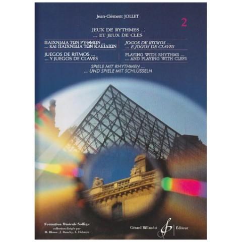 Jollet - Jeux De Rythmes Vol.2 Παιχνίδια των ρυθμών και παιχνίδια των κλειδιών τεύχος 2