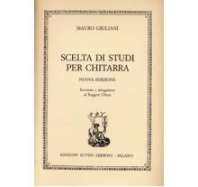 Giuliani Maurio- Scelta Di Studi Per Chitarra (Nuova Edizione)