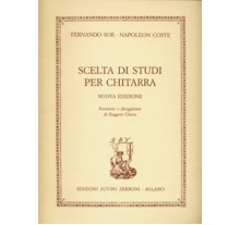 Sor Fernando -Napoleon Coste - Scelta Di Studi Per Chitarra (Nuova Edizione)