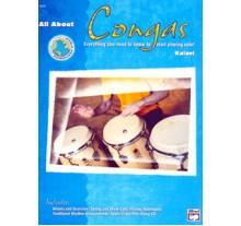 All About Congas + CD Μέθοδος εκμάθησης κόγκας-Περιλαμβάνει CD για ευκολότερη εξάσκηση