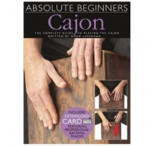 Absolute Beginners - Cajon Book + Download Card Μέθοδος για cajon