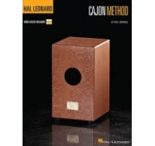 Hal Leonard - Cajon Methode Percussion BK/Video  Μέθοδος για cajon