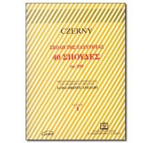 CZERNY C. - 40 STUDI Op. 299 VOL. I (ANZAGHI)