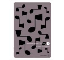 Τετράδιο μουσικής A4, 50/10: Νότες