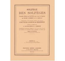 Lemoine Solfege (με συνοδεία) 3A
