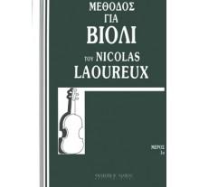 Laoureux Nicolas-Μέθοδος για βιολί Μέρος 1ο