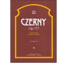 C. CZERNY 24 ΣΠΟΥΔΕΣ Op. 777