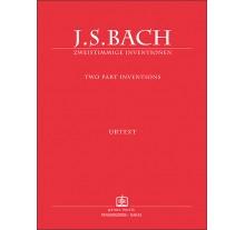 BACH JOHANN SEBASTIAN - ZWEISTIMMIGE INVENTIONEN (2 ΦΩΝΕΣ)