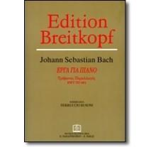 BACH JOHANN SEBASTIAN - INVENTIONEN 3 ΦΩΝΕΣ