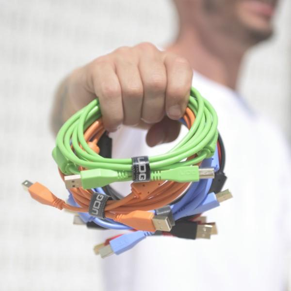 ΚΑΛΩΔΙΟ UDG ULTIMATE USB 2.0 A-B 1.0m BLACK