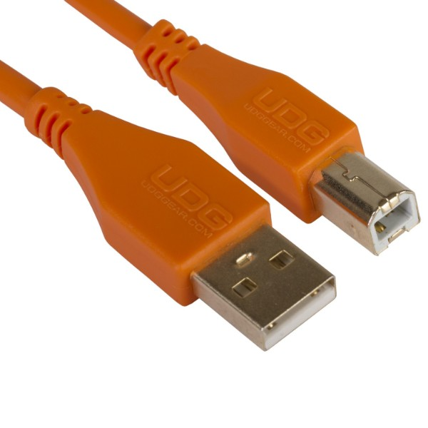 ΚΑΛΩΔΙΟ UDG ULTIMATE USB 2.0 A-B 1.0m Orange