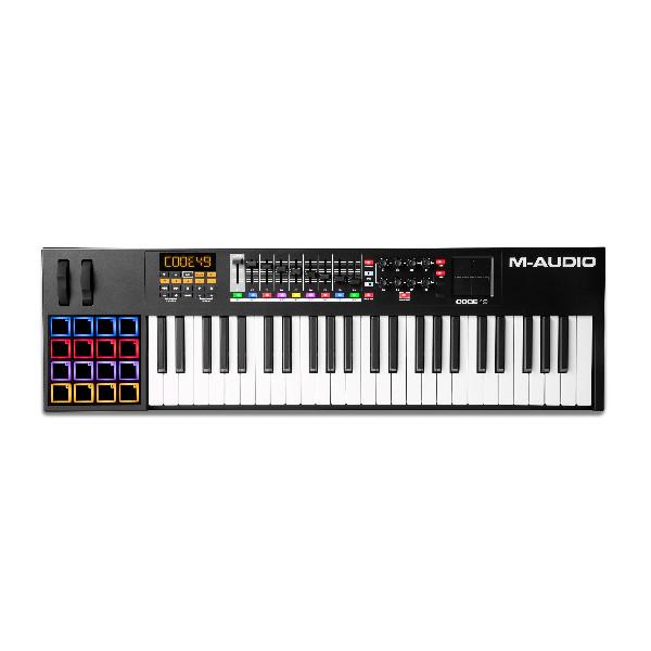 MIDI KEYBOARD CONTROLLER CODE 49 BLACK  49 ΠΛΗΚΤΡΑ