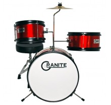 DRUM SET  GRANITE JUNIOR ΠΑΙΔΙΚΟ RED