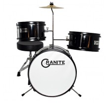 DRUM SET  GRANITE JUNIOR ΠΑΙΔΙΚΟ BLACK