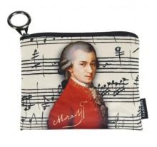 ΠΟΡΤΟΦΟΛΙ ΥΦΑΣΜΑΤΙΝΟ ΜΕ ΦΕΡΜΟΥΑΡ Wolfgang Amadeus Mozart