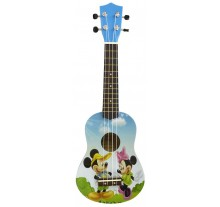 UKULELE MUSIC UK-1 SOPRANO MIKY BLUE