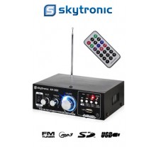 ΡΑΔΙΟΕΝΙΣΧΥΤΗΣ KARAOKE SKYTRONIC AV-360 HI-FI FM/USB/SD/MP3