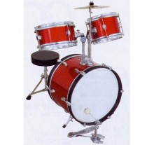 DRUM SET MUSIC JUNIOR WINE RED 3pcs