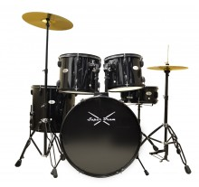 DRUM SET MUSIC SUPER DRUM 22'' BLACK