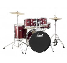 DRUM SET PEARL ROADSHOW RS-505C 20'' RED WINE