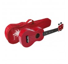 UKULELE SOUNDSATION SOPRANO MUK-10 RED