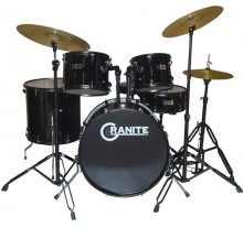 DRUM SET GRANITE ROCKBEAT BLACK