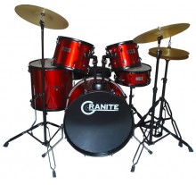 DRUM SET GRANITE ROCKBEAT RED