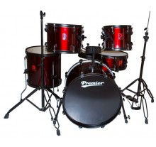 DRUM SET PREMIER OLYMPIC STAGE 20'' RED