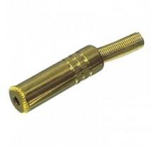 ΒΥΣΜΑ ΚΑΡΦΙ SUN GOLD JC-131  ΘΗΛΥΚΟ 3.5mm STEREO