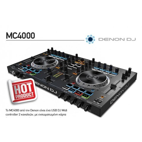 DJ CONTROLLER DENON MC-4000