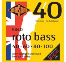 ΧΟΡΔΕΣ ΣΕΤ ΜΠΑΣΟΥ ROTOSOUND RB-40   040-100
