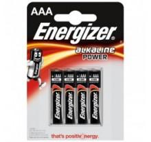 ΜΠΑΤΑΡΙΑ ENERGIZER ΑΛΚΑΛΙΚΗ POWER  AAA-LR03  ( 4 ΤΕΜ )