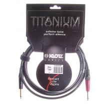 ΚΑΛΩΔΙΟ ΚΙΘΑΡΑΣ KLOTZ TITANIUM TI-0300PSP BLACK 3m ON-OFF