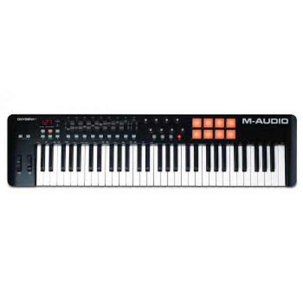 MIDI KEYBOARD CONTROLLER M-AUDIO OXYGEN-61 MK-4