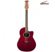 ΚΙΘΑΡΑ ΗΛ-ΑΚΟΥΣΤΙΚΗ OVATION APPLAUSE BALLADEER AB24-RR RUBY RED