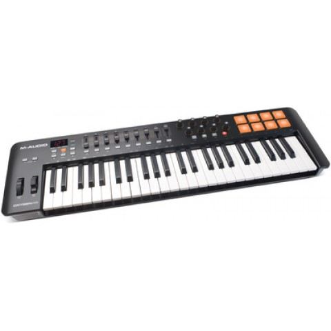 MIDI KEYBOARD CONTROLLER M-AUDIO OXYGEN-49 MK-4