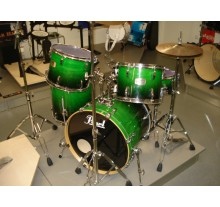 DRUM SET PEARL ELX GREEN FADE ΕΛΑΦΡΩΣ ΜΕΤΑΧΕΙΡΙΣΜΕΝΗ