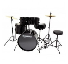 DRUM SET DYNAMIC 22'' Μαύρο PS-800035