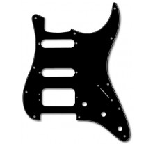 PICKGUARD MUSIC STRAT  HSS BLACK