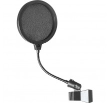 POP FILTER ON STAGE MICROPHONE