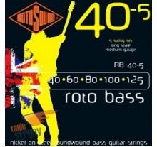ΧΟΡΔΕΣ ΣΕΤ ΜΠΑΣΟΥ ROTOSOUND RB-40-5   040-125