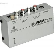 ΕΠΕΞΕΡΓΑΣΤΗΣ BEHRINGER PP-400  MICROPHONO Ultra-Compact Phono Preamp