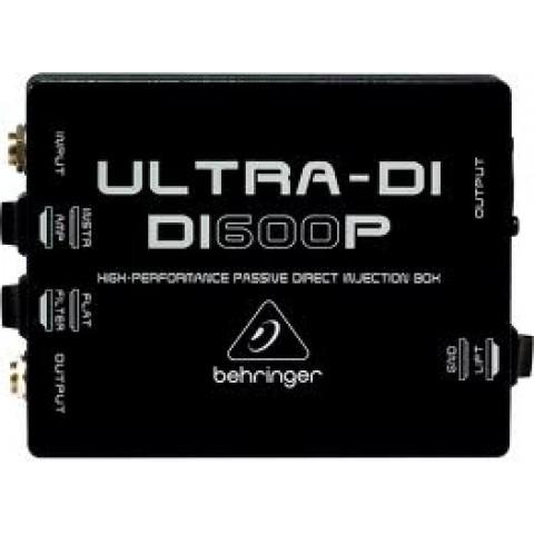 ΕΠΕΞΕΡΓΑΣΤΗΣ  BEHRINGER DI-600P ULTRA-DI PASSIVE     DI BOX